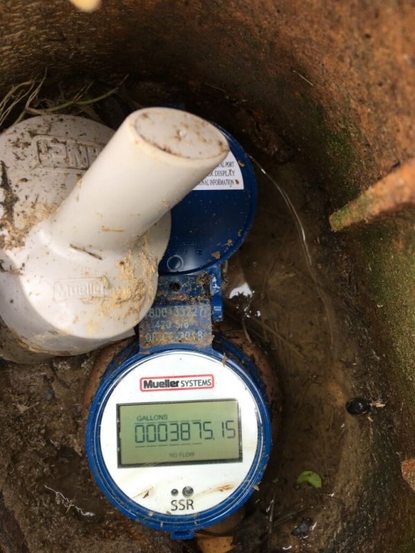 How to read your water meter | Sardis Water Association